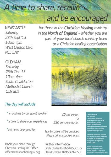 CHUK Northern Christian Healing days